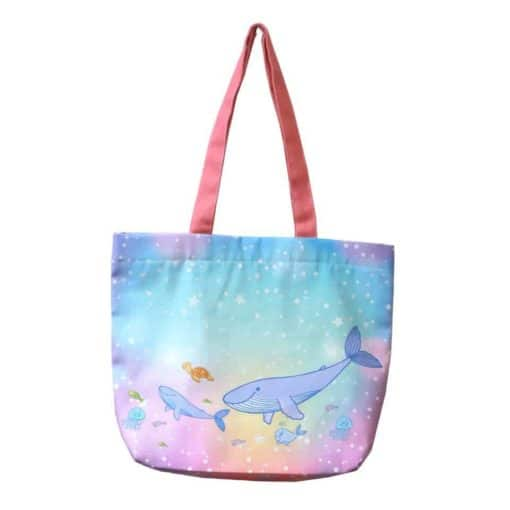 กระเป๋าผ้าปลาวาฬ 2