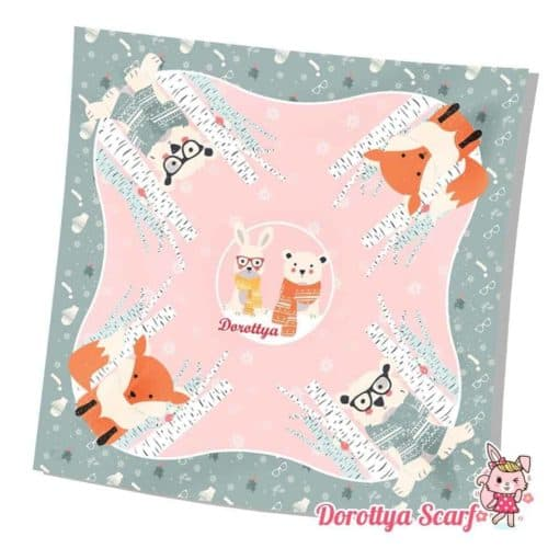 ผ้าพันคอ fox 2